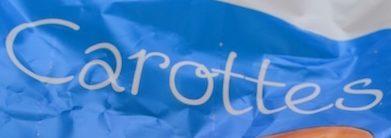 Carottes - Ingrediënten