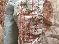 Beurre moulé demi-sel - Ingrédients - fr