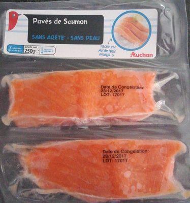 Pavés de saumon surgelés - Produit - fr