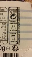Pavés de saumon surgelés - Instruction de recyclage et/ou informations d'emballage - fr