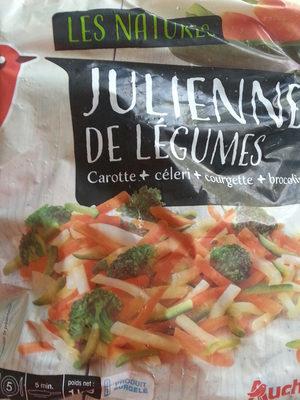 Julienne de legumes Carottes, courgettes, celeris, brocolis. - Product - fr