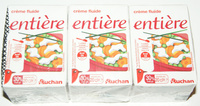 Crème fluide entière - Produit