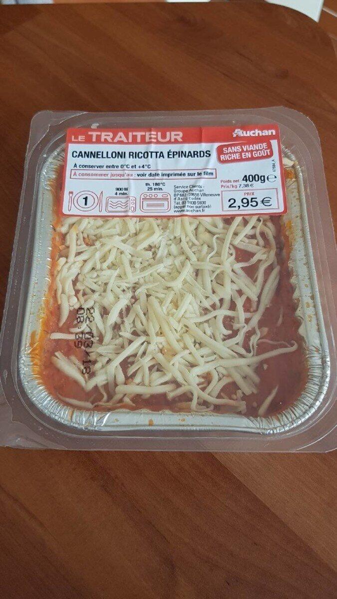 Cannelloni ricotta épinards - Prodotto - fr