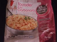 Torsades A La Carbonara Auchan - Product - fr