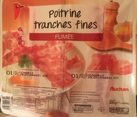 Poitrine tranches fines Fumée - Product - fr