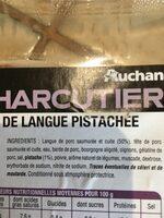 Hure de langue pistachee - Ingredients - fr