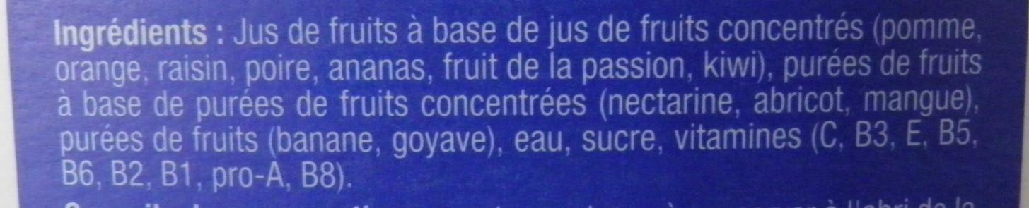 Nectar multi vitaminé - Ingredients