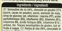 ChocoCrack - Ingrediënten