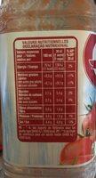 Jus de tomate - Informations nutritionnelles - fr