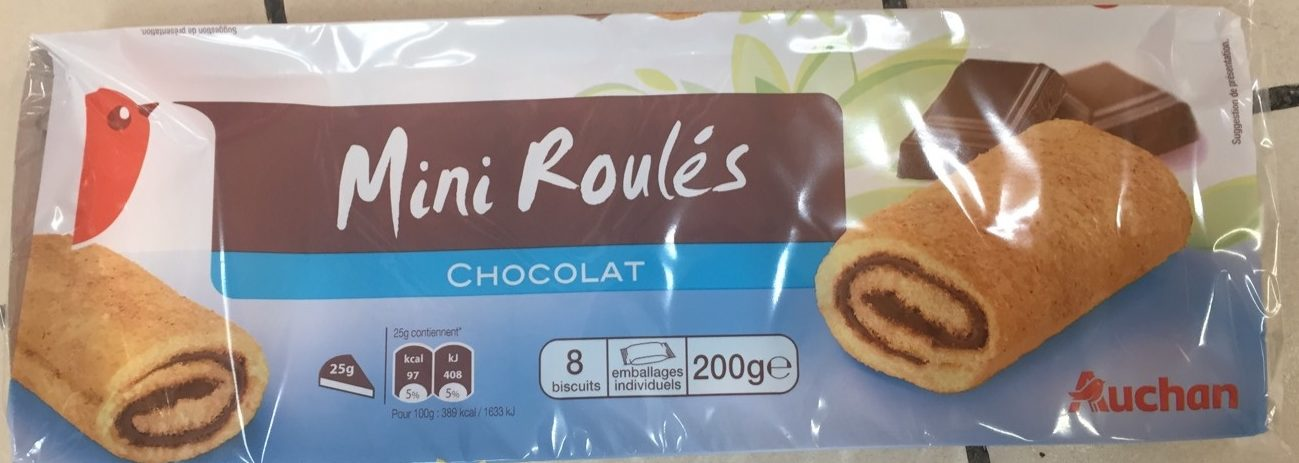 Mini Roulés Chocolat - Product