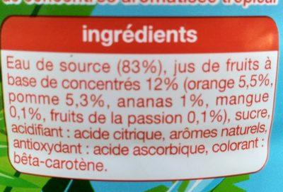 Tropical - Ingrediënten