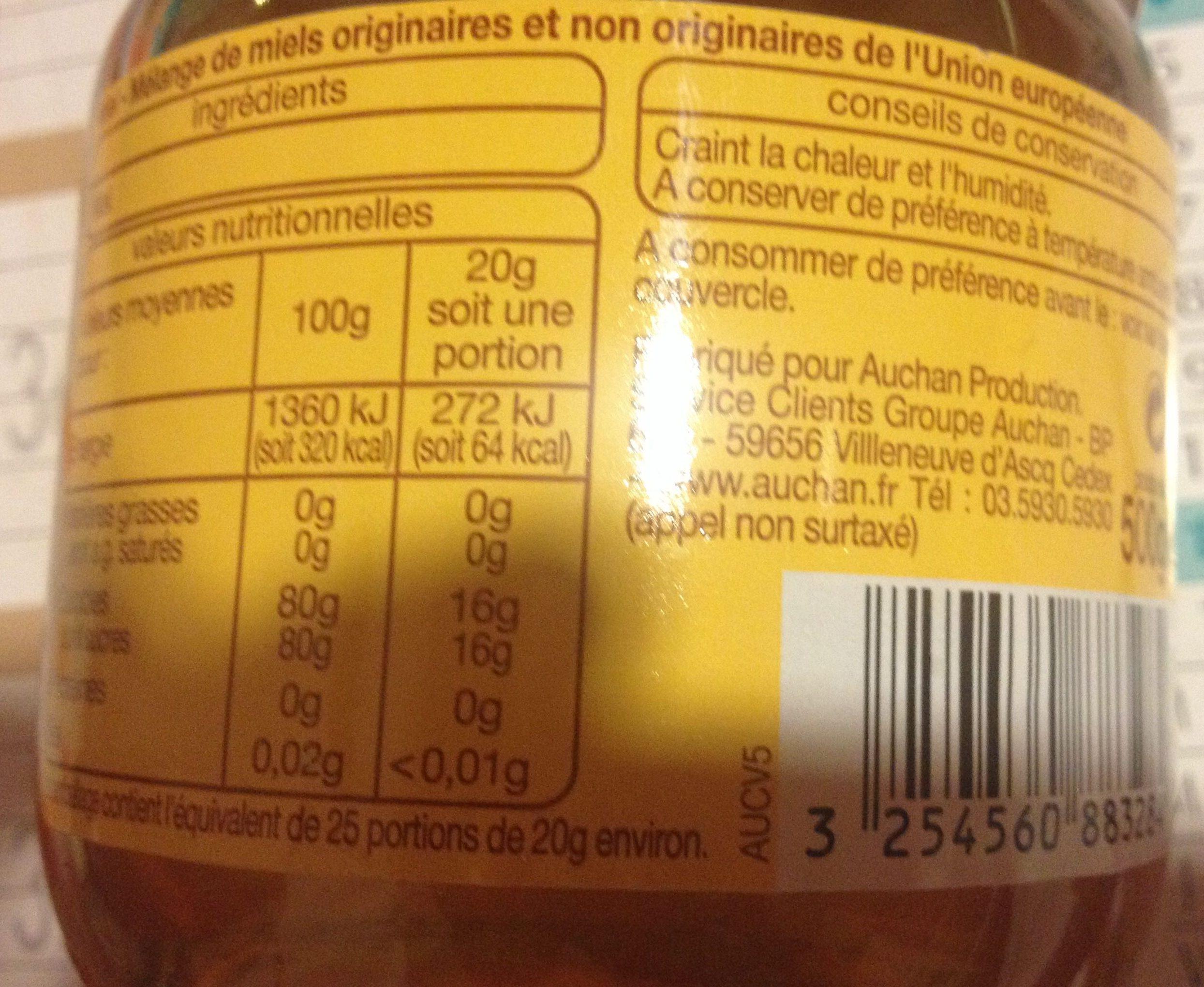 Mélange de miels originaires et non originaires de l'UE - Product