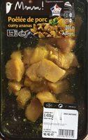 Poêlée de porc curry ananas - Product