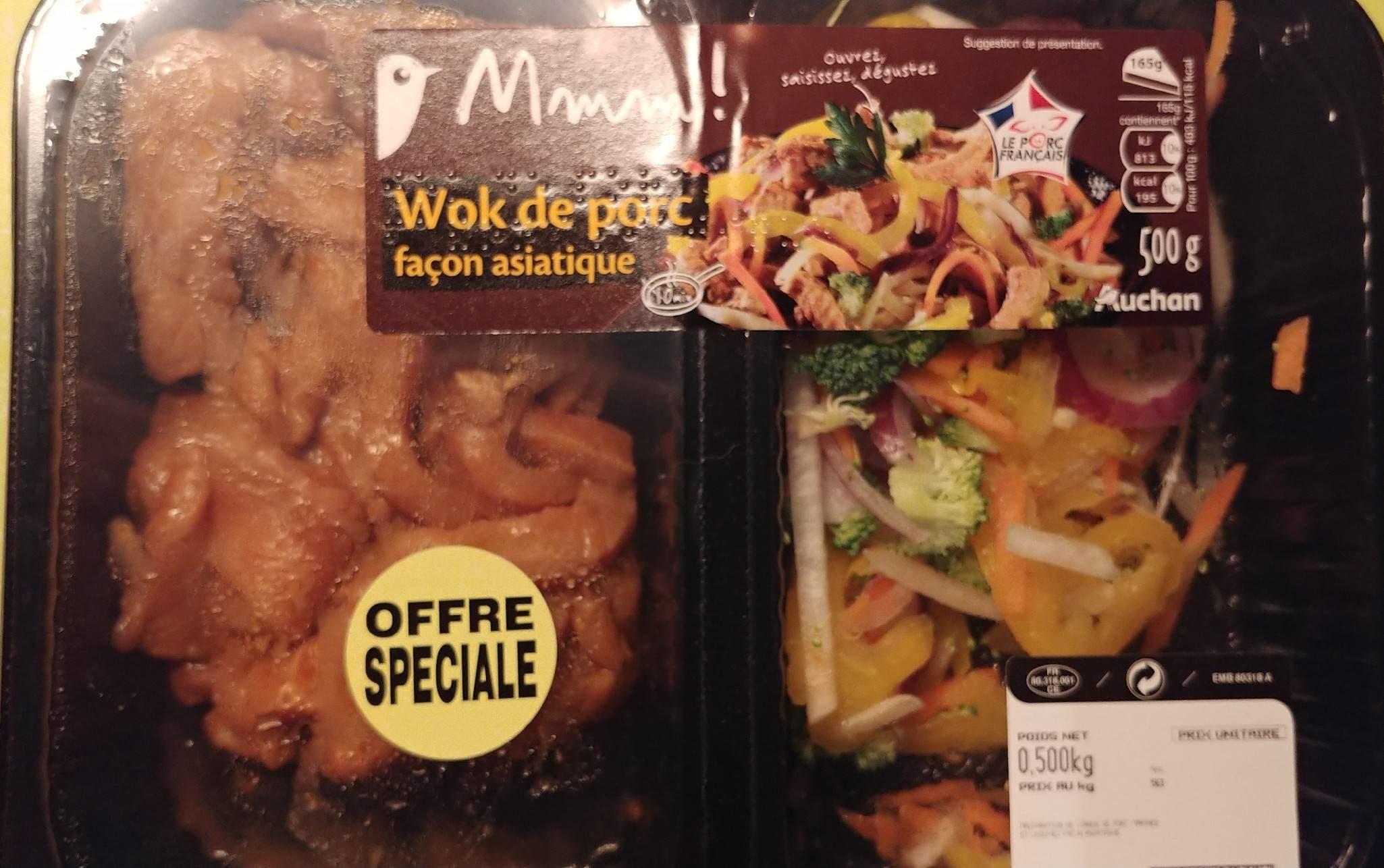 Wok de Porc Façon Asiatique - Produit