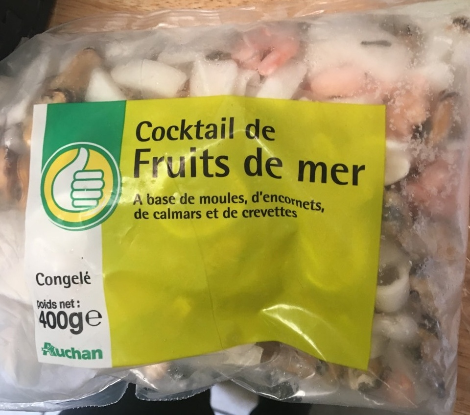 Cocktail d fruits de mer pouce 400g - Cuisiner cocktail de fruits de mer surgele ...