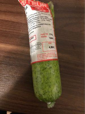Le Traiteur assaisonnement beurre et ail - Voedingswaarden - fr