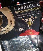 Carpaccio parmigiano reggiano aop - Produit - fr