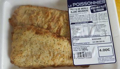 Filet de merlu blanc meuniere - Product