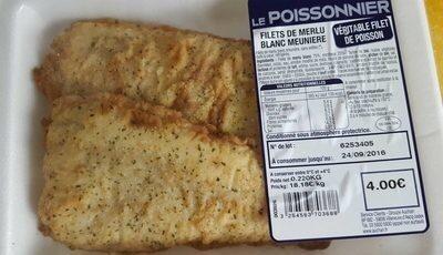 Filet de merlu blanc meuniere - Produit - fr