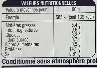 Filet de merlu blanc meuniere - Nutrition facts