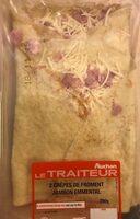 2 crêpes de froment Jambon Emmental - Produit - fr