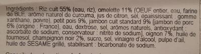 Riz cantonais - Ingredienti - fr