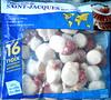 Petites noix de Saint-Jacques avec corail surgelées - Product