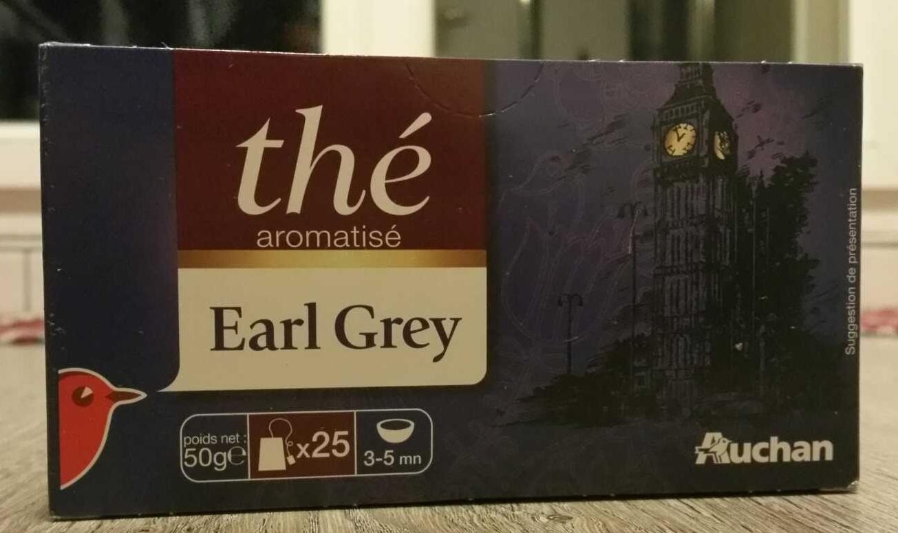 Thé aromatisé Earl Grey - Produit