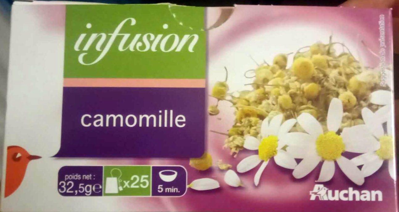 Infusion Camomille 25 sachets - Produit - fr
