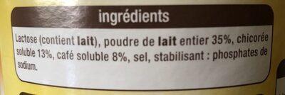 Chicorée Café au Lait - Ingrédients - fr