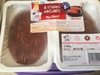2 steaks hachés pur boeuf - Product