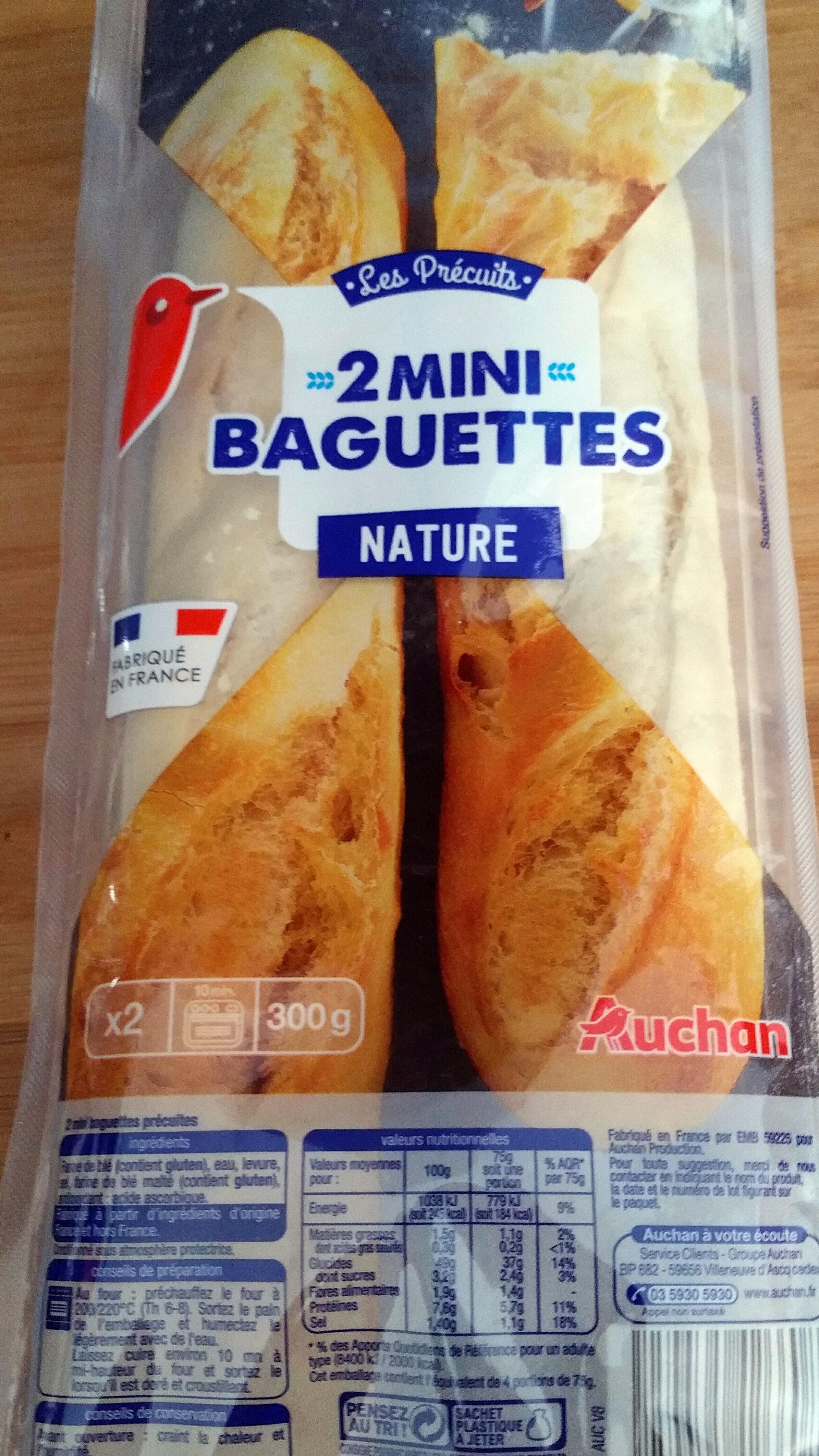 Mini baguettes précuites - Produit - fr