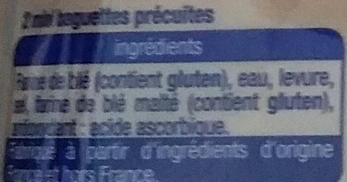 Mini baguettes précuites - Ingredients - fr