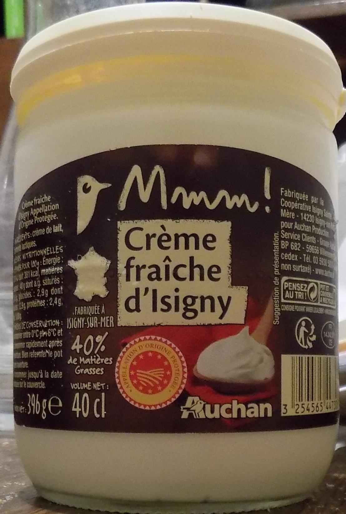 Mmm ! - Crème fraîche d'Isigny - Product - fr