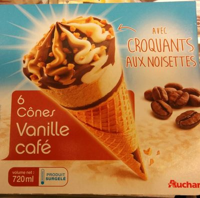 Cônes vanille café - Produit - fr