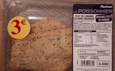 Filet de limande du Nord meunière - Product