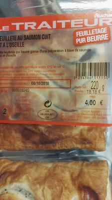Feuilletée saumon oseille - Produit - fr