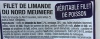 Filet limande du Nord meunière - Ingrédients - fr