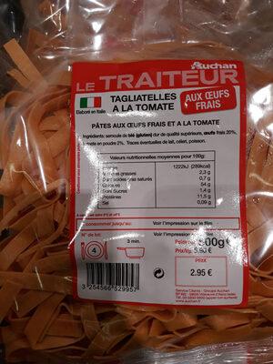 Tagliatelles tomates - Produit - fr