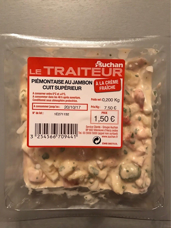 Le Traiteur - Piémontaise au jambon cuit supérieur - Produit - fr