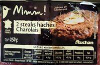 Steak Haché inférieur à 12% - Informations nutritionnelles - fr