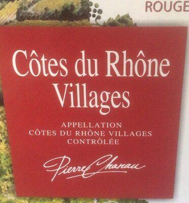 Cotes du rhone village - Product - fr