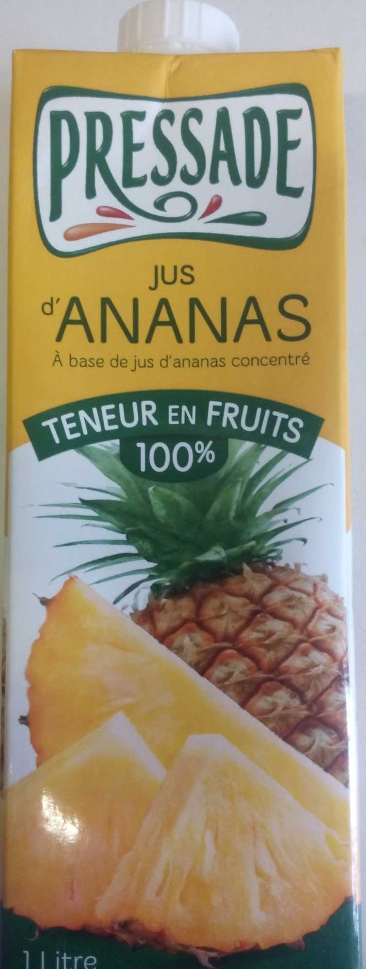 Jus d'Ananas - Product