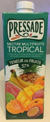 Nectar Multifruits Tropical - Produit - fr
