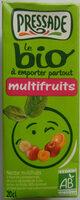 Le bio à emporter partout - Nectar multifruits - Produit - fr