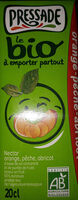 Nectar orange pêche abricot - Product