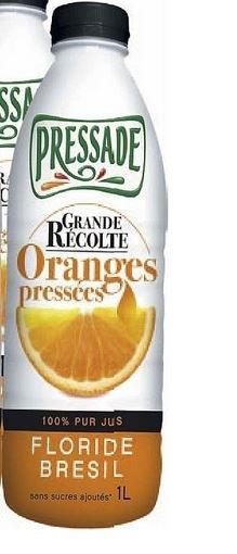 Oranges pressées Grande Récolte - Product - fr
