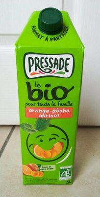Jus d'orange pêche abricot bio - Product - fr