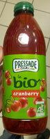 Cranberry Bio - Produit