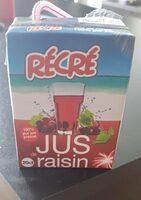 Pur jus de raisin 20cl - Prodotto - fr